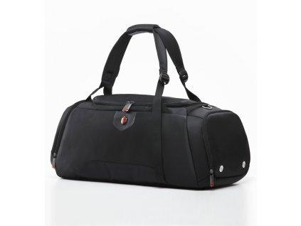 Cestovní taška KRIMCODE Sport Attire 02 - černá  + Pouzdro zdarma