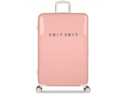 Cestovní kufr SUITSUIT® TR-1202/3-L - Fabulous Fifties Papaya Peach  + Pouzdro zdarma