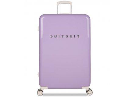 Cestovní kufr SUITSUIT® TR-1203/3-L - Fabulous Fifties Royal Lavender  + Pouzdro zdarma
