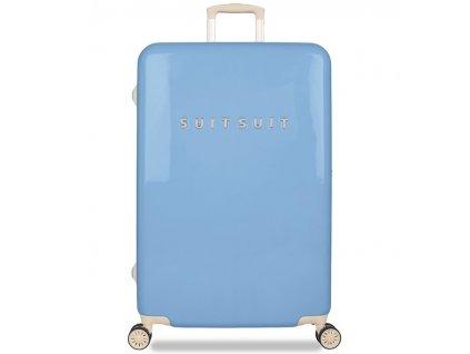Cestovní kufr SUITSUIT® TR-1204/3-L - Fabulous Fifties Alaska Blue  + Pouzdro zdarma