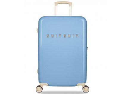 Cestovní kufr SUITSUIT® TR-1204/3-M - Fabulous Fifties Alaska Blue  + Pouzdro zdarma