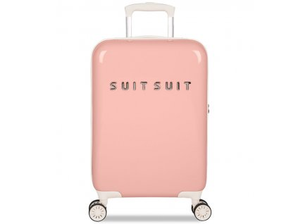 Kabinové zavazadlo SUITSUIT® TR-1202/3-S - Fabulous Fifties Papaya Peach  + Pouzdro zdarma