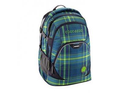 Školní batoh Coocazoo EvverClevver2, Walk The Line Lime  + PowerBanka nebo pouzdro zdarma