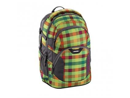 Školní batoh Coocazoo JobJobber 2, Hip To Be Square Green  + PowerBanka + sportovní pytel