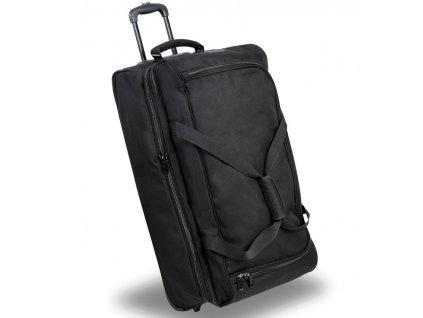 Cestovní taška na kolečkách MEMBER'S TT-0032 - černá  + Pouzdro zdarma