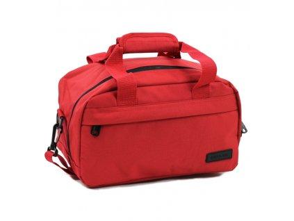 Cestovní taška MEMBER'S SB-0043 - červená