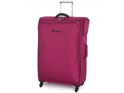 Cestovní kufr IT Luggage Carry-Tow TR-1157/3-L - červená  + PowerBanka nebo pouzdro zdarma