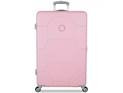 Cestovní kufr SUITSUIT® TR-1231/3-L ABS Caretta Pink Lady  + Pouzdro zdarma