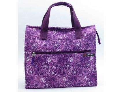 Nákupní taška METRO 7432 - fialová