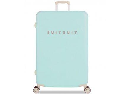 Cestovní kufr SUITSUIT® TR-1222/3-L - Fabulous Fifties Luminous Mint  + PowerBanka nebo pouzdro zdarma