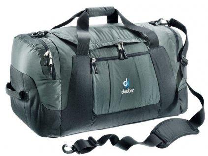 Deuter Relay 80 granite-black - cestovní taška  + Brašna zdarma