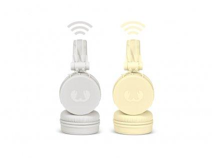 FRESH ´N REBEL Caps Bluetooth sluchátka, světle žlutá