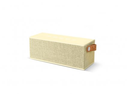 FRESH ´N REBEL Rockbox Brick Fabriq Edition Bluetooth reproduktor, světle žlutý  + Brašna zdarma