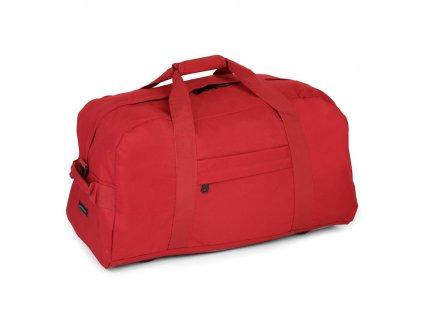 Cestovní taška MEMBER'S HA-0047 - červená