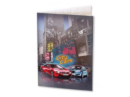 Desky na abecedu City Cars