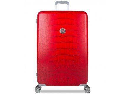 Cestovní kufr SUITSUIT® TR-1239/3-L - Red Diamond Crocodile  + PowerBanka nebo pouzdro zdarma