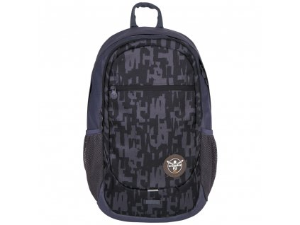 Chiemsee Techpack two backpack Typo black  + Pouzdro zdarma