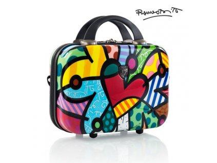 Heys Britto Beauty Case Butterfly Love  + Pouzdro zdarma