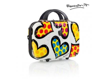 Heys Britto Beauty Case Hearts Carnival  + Pouzdro zdarma
