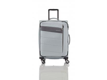 Travelite Kite 4w L Silver