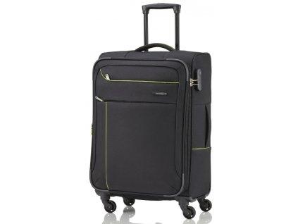 Travelite Solaris 4w M Black/lemon  + Pouzdro zdarma