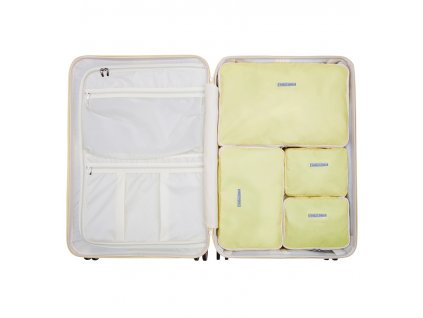 Sada obalů SUITSUIT® Perfect Packing system vel. L Mango Cream  + Pouzdro zdarma