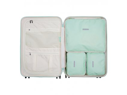 Sada obalů SUITSUIT® Perfect Packing system vel. M Luminous Mint