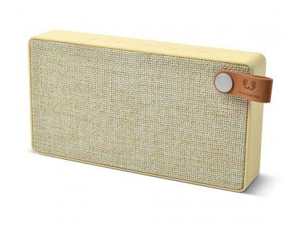 FRESH ´N REBEL Rockbox Slice Fabriq Edition Bluetooth reproduktor, Buttercup, světle žlutý