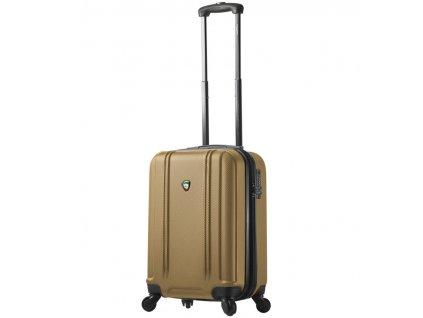 Kabinové zavazadlo MIA TORO M1210/3-S - zlatá  + Pouzdro zdarma