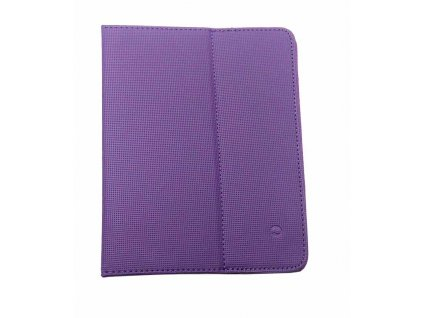 Solight univerzální pouzdro - desky z polyuretanu pro tablet nebo čtečku 8'', fialové