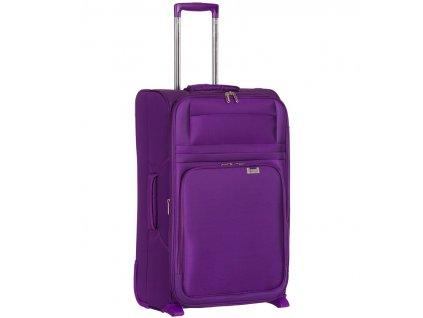 Kabinové zavazadlo AEROLITE T-9515/3-S - fialová  + Pouzdro zdarma
