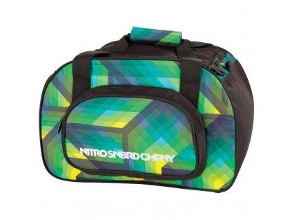 NITRO taška DUFFLE BAG XS geo green