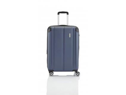 Travelite City 4w S,M,L Navy – sada 3 kufrů  + Pouzdro zdarma