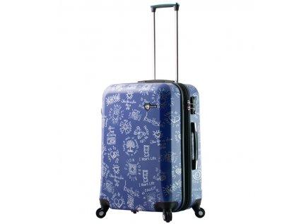 Cestovní kufr MIA TORO M1089/3-M - modrá  + PowerBanka nebo brašna zdarma