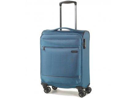 Kabinové zavazadlo ROCK TR-0161/3-S - modrá  + Pouzdro zdarma