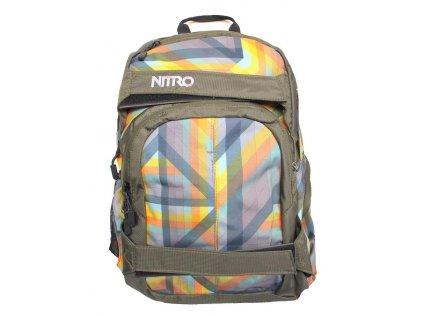 NITRO batoh DRIFTER geo orange