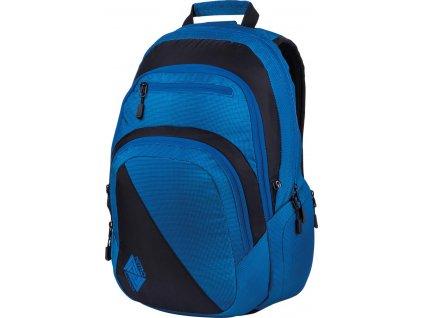 NITRO batoh STASH blur brilliant blue  + Pouzdro zdarma + sleva 10% s kódem CERVEN10