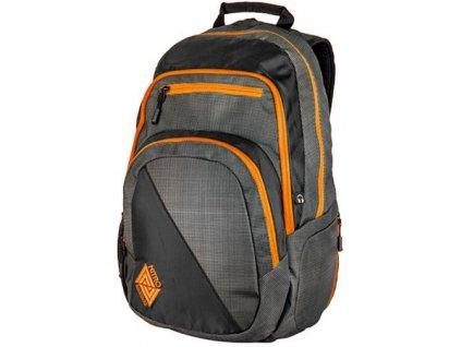 NITRO batoh STASH blur-orange trims  + Pouzdro zdarma