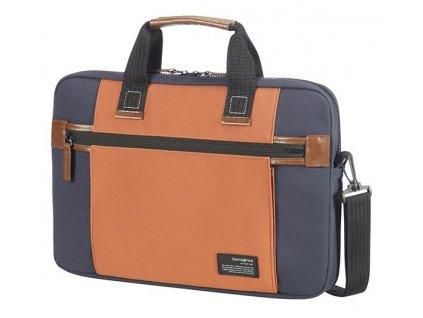 "Samsonite Sideways Laptop Sleeve 15,6"" Blue/Orange"