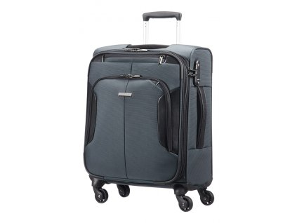 Samsonite XBR MOBILE OFFICE SPINNER 55 Grey/Black  + Pouzdro zdarma