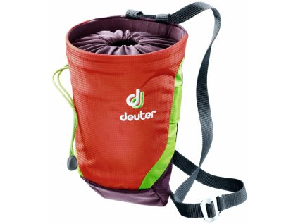 Deuter Gravity Chalk Bag II L Papaya-aubergine - Pytlík