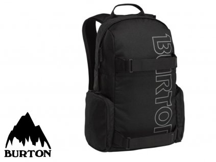 Burton EMPHASIS PACK TRUE BLACK  + Pouzdro zdarma