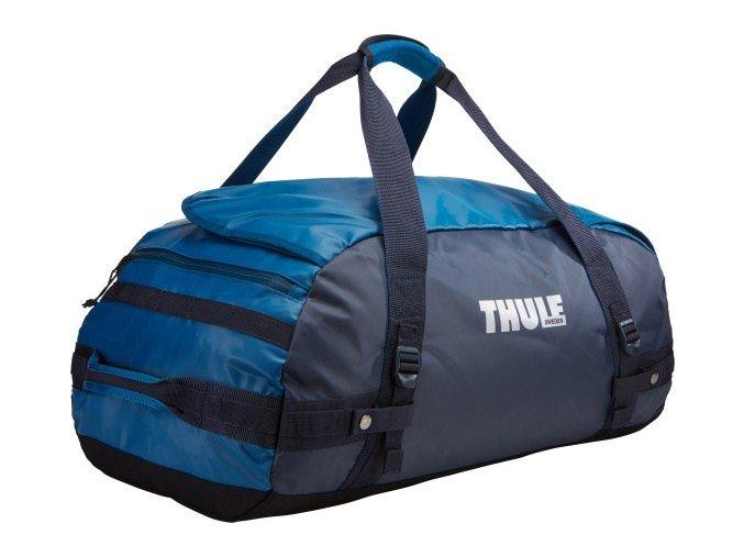 Thule Chasm 70 l cestovní taška CHASM70DB - modrá/šedá  + PowerBanka nebo pouzdro zdarma