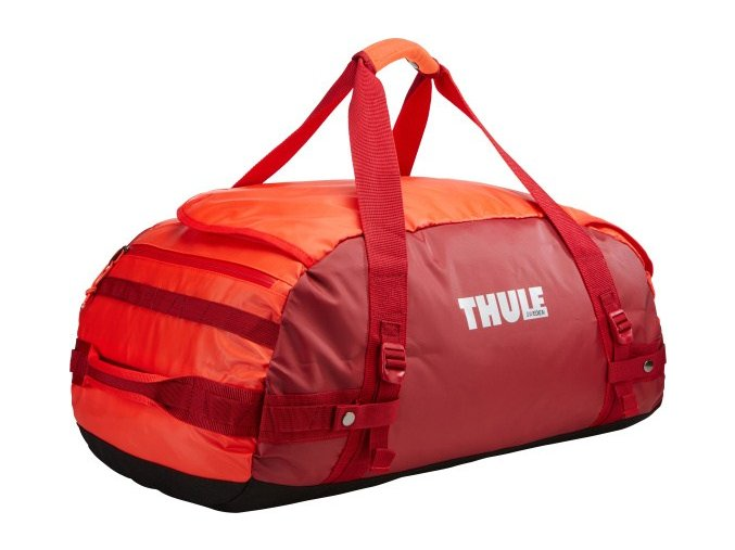 Thule Chasm 70 l cestovní taška CHASM70RO - oranžová/červená   + PowerBanka nebo pouzdro zdarma