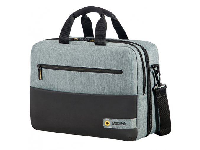 "American Tourister CITY DRIFT 3-WAY BOARDING BAG 15.6"" BLACK/GREY"