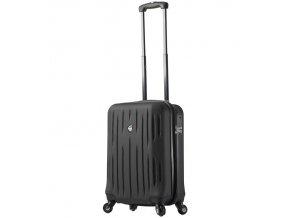 Kabinové zavazadlo MIA TORO M1212/3-S - černá  + Pouzdro zdarma