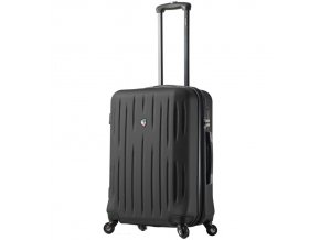 Cestovní kufr MIA TORO M1212/3-L - černá  + PowerBanka nebo pouzdro zdarma
