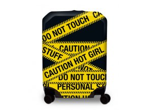 BG Berlin Hug Cover S Caution - Obal na kufr