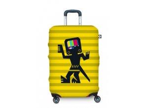 BG Berlin Hug Cover S Cave Man Yellow - Obal na kufr