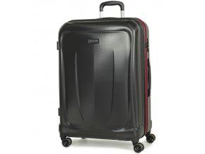 Cestovní kufr ROCK TR-0165/3-L ABS - černá  + PowerBanka nebo pouzdro zdarma